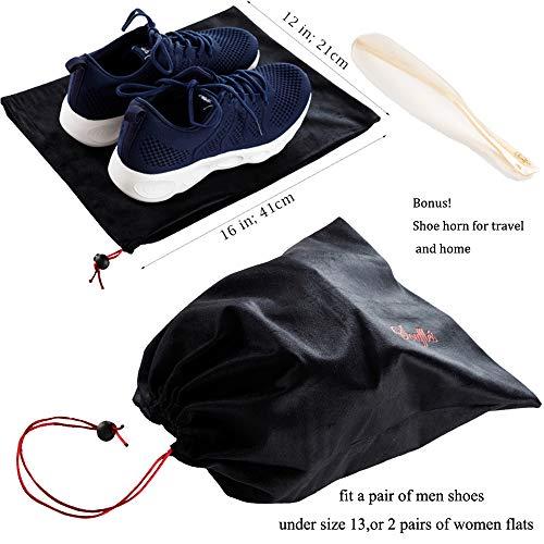Soufflé Travel Shoe Storage Bags Drawstring Po...