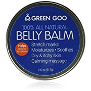 Green Goo All-Natural Skin Care, Belly Balm, Large Tin 1.82 Ounce