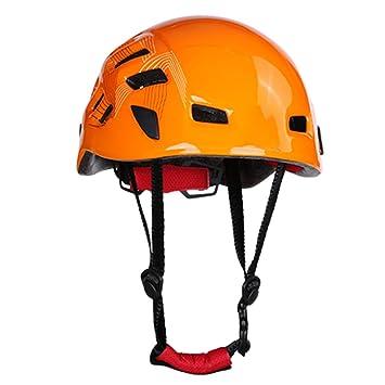 Jiaba2018 Casco De Escalada Al Aire Libre Casco Casco Casco De Escalada Escalada Rescate Rapel Espeleologia