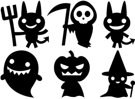 100 Halloween Glow In The Dark Stickers Party Favors Teacher Supply Ghost BOO