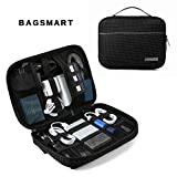 BAGSMART Travel Electronic Organizer Cases Electronics Accessories Storage Bag for Hard Drives, Cables