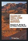 Rulers of India: Lord William Bentinck