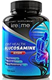 #9: Kre8me Glucosamine, Extra Strength Glucosamine Complex with MSM, Chondroitin, Hyaluronic Acid and FruiteX-B, Supplements for Joint Support, 120-Count, No Artificial Flavors or Preservatives