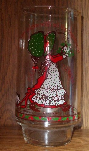 Christmas Is Love Holly Hobbie Limited Edition Coca-Cola Glass