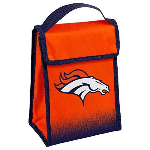 Broncos Lunch (FOCO Denver Broncos Gradient Velcro Lunch Bag)