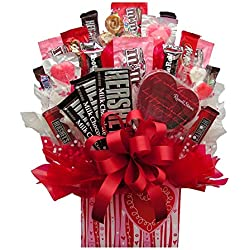 I Ate My Gift Valentine's Day Chocolate Gift Pack IAMG021 Sweetheart Box Candy Bouquet - Large