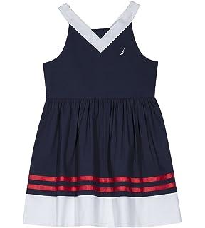 374d8c57cc59 Amazon.com: Baby Kids Toddler Girls Flamingo Patchwork Striped Dress ...
