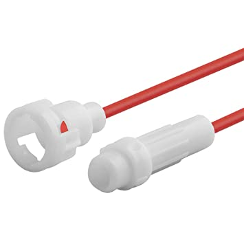 3 Stück Sicherungshalter mit Kabel für Glassicherungen 5 x 20 mm