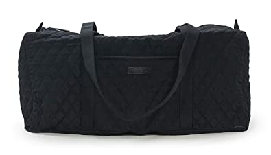 aba5056f1c Image Unavailable. Image not available for. Color  Vera Bradley Small Duffel  Bag in Classic Black ...