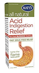 Matys All Natural Acid Indigestion Relief Antacid, 4.0 Fluid Ounce