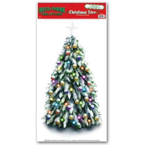- Christmas Tree Peel 'N Place