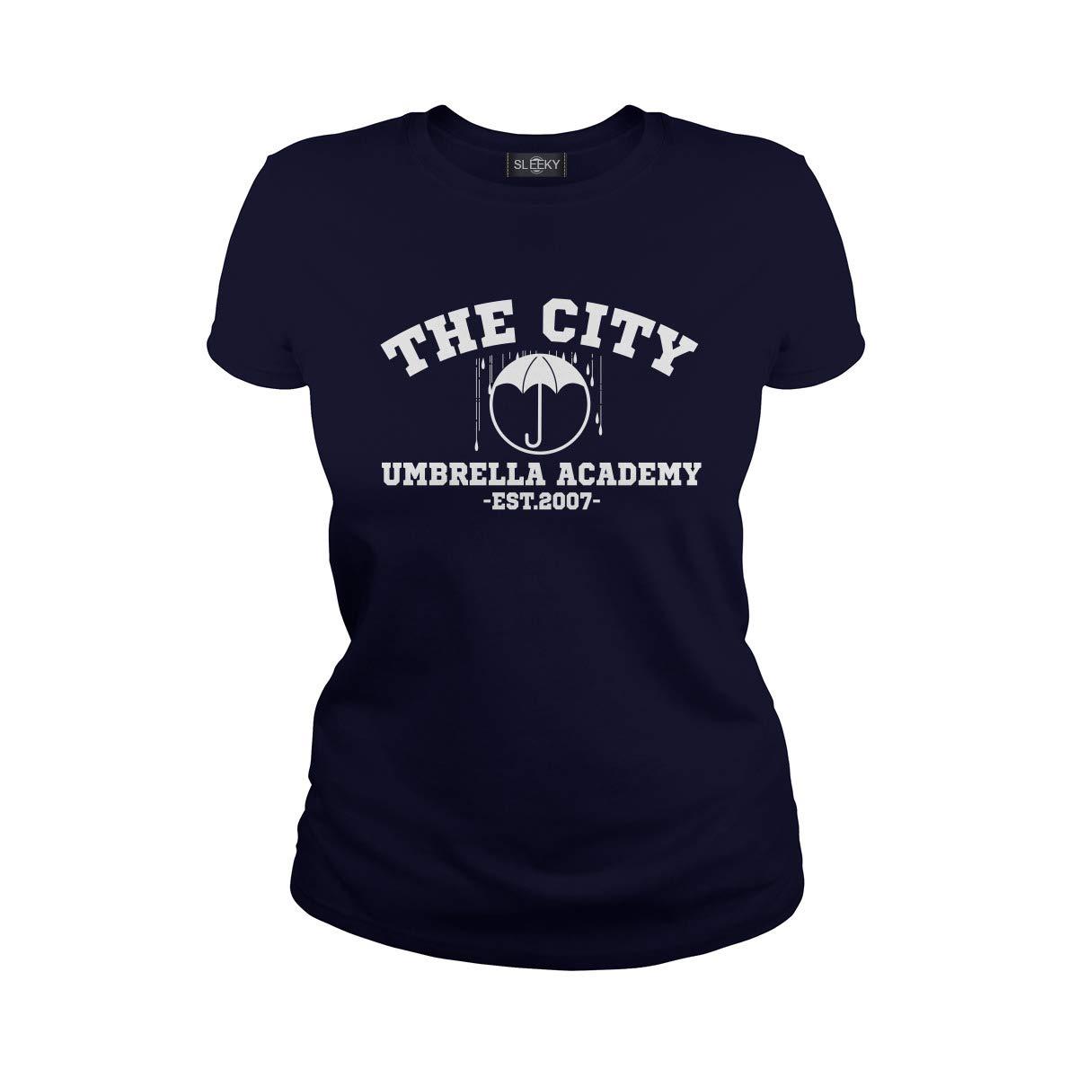 Sleeky The City Umbrella Academy Est 2007 T-Shirt