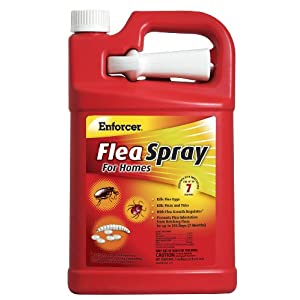 Enforcer Flea Spray for Homes, 128-Ounce, Packaging may vary 6