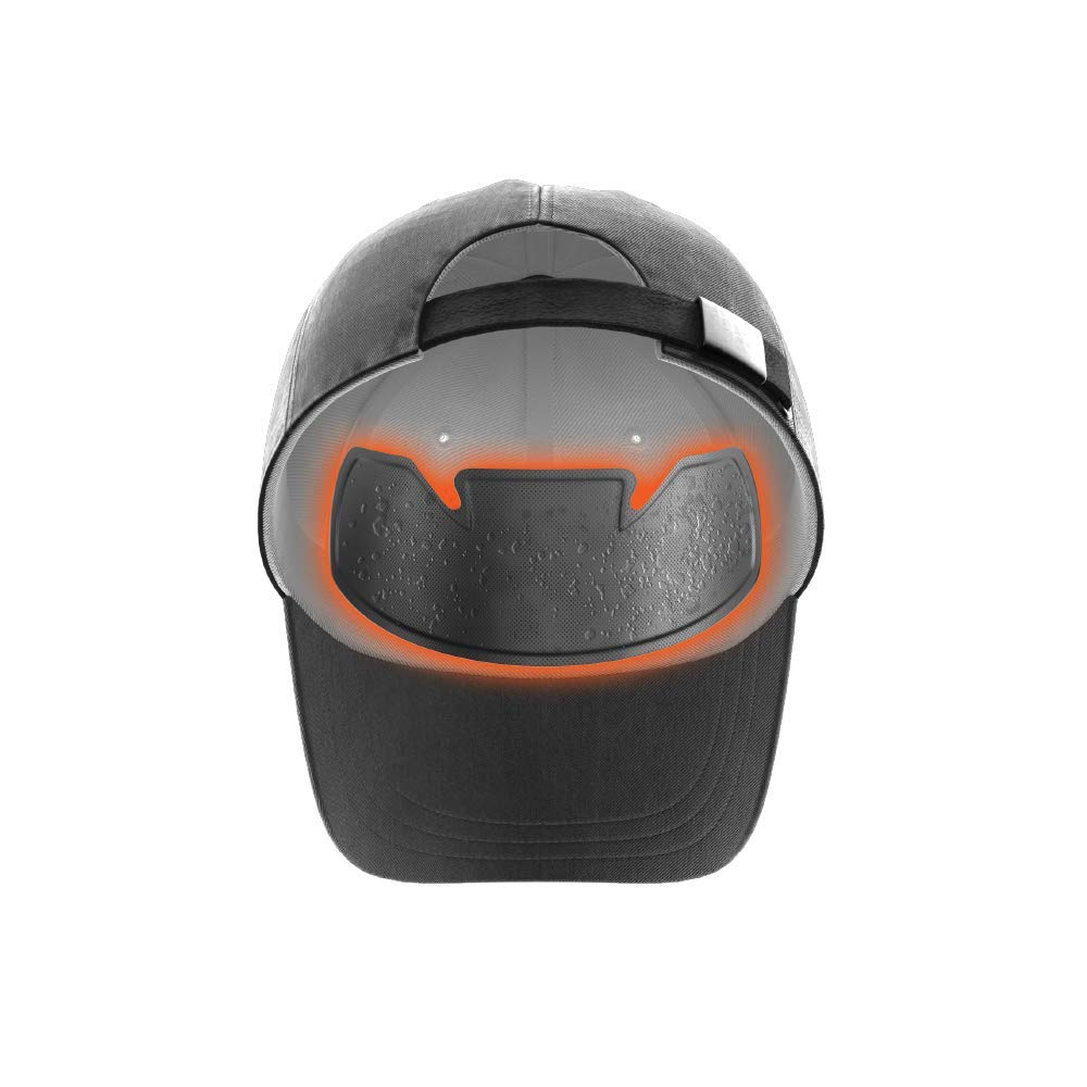 No Sweat Shock Doctor Baseball Hat & Batting Helmet Liner - Absorbs Dripping Sweat/Moisture Wicking Sweatband   Prevent Sweat Stains/Ultimate Hat Saver - (Official, Pro, Softball)