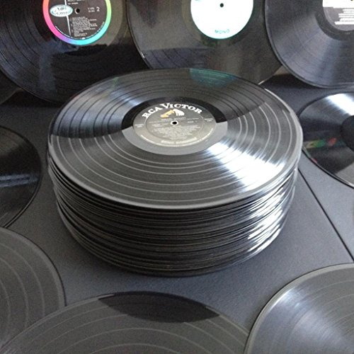 - 15 Real 12 inch 33 rpm Lp Records for Arts & Crafts Decoration Party Artwork