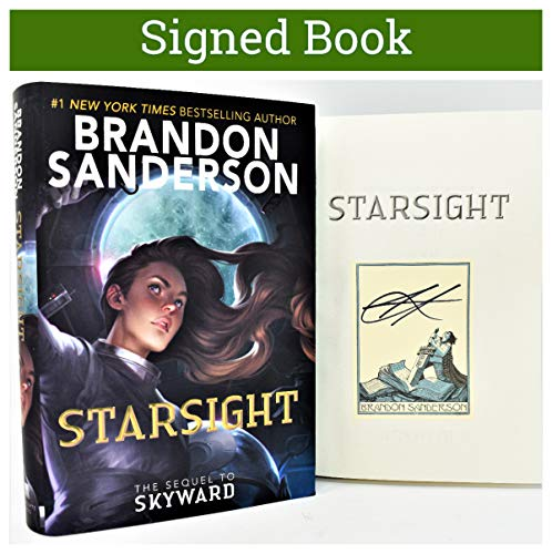 Starsight (Skyward) by Brandon Sanderson (SIGNED BOOK PLATE)