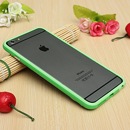 Good Quality Iphone 6 Plus Silicon Bumper Green by G4GADGET®