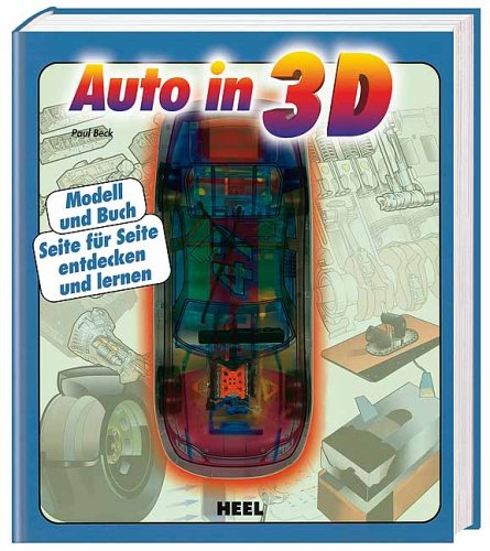 Rennwagen in 3D