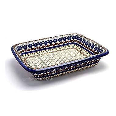 Polish Pottery Baker - Lasagna - Primrose