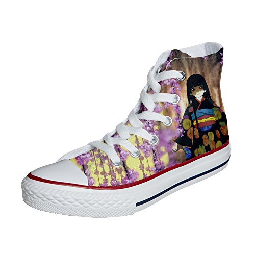 Converse All Star zapatos personalizados (Producto Handmade) Fiori Fata fantasy