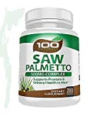 Cheap Pure Saw Palmetto – 500mg Berry Extract Capsule- For Prostate & Urinary Health, Hair Loss Benefits (100 caps) (200)
