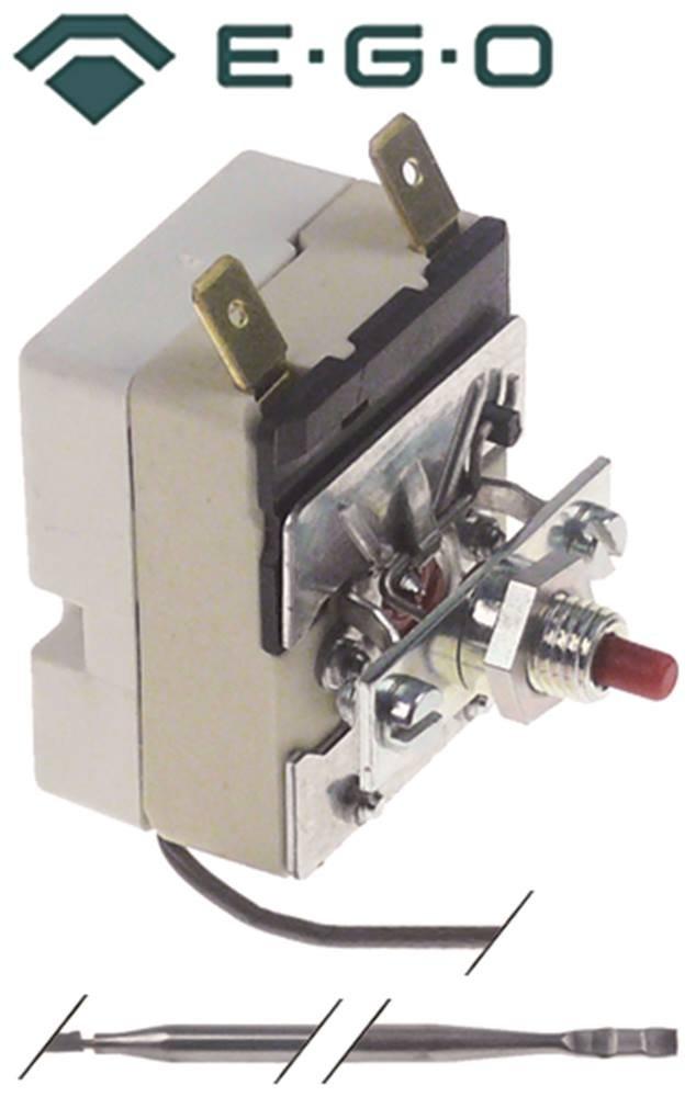 EGO Sicherheitsthermostat 55.13522.470 max Temperatur 140/°C F/ühler /ø 4mm x 125mm