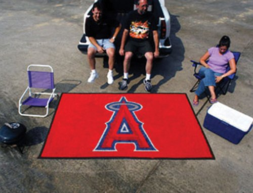 Team Fan Gear Fanmats Los Angeles Angels Ulti-Mat 60