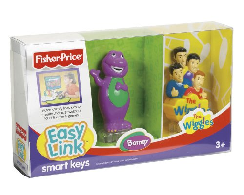 Fisher Easy Price Link - Easy Link Smart Keys - The Wiggles and Barney