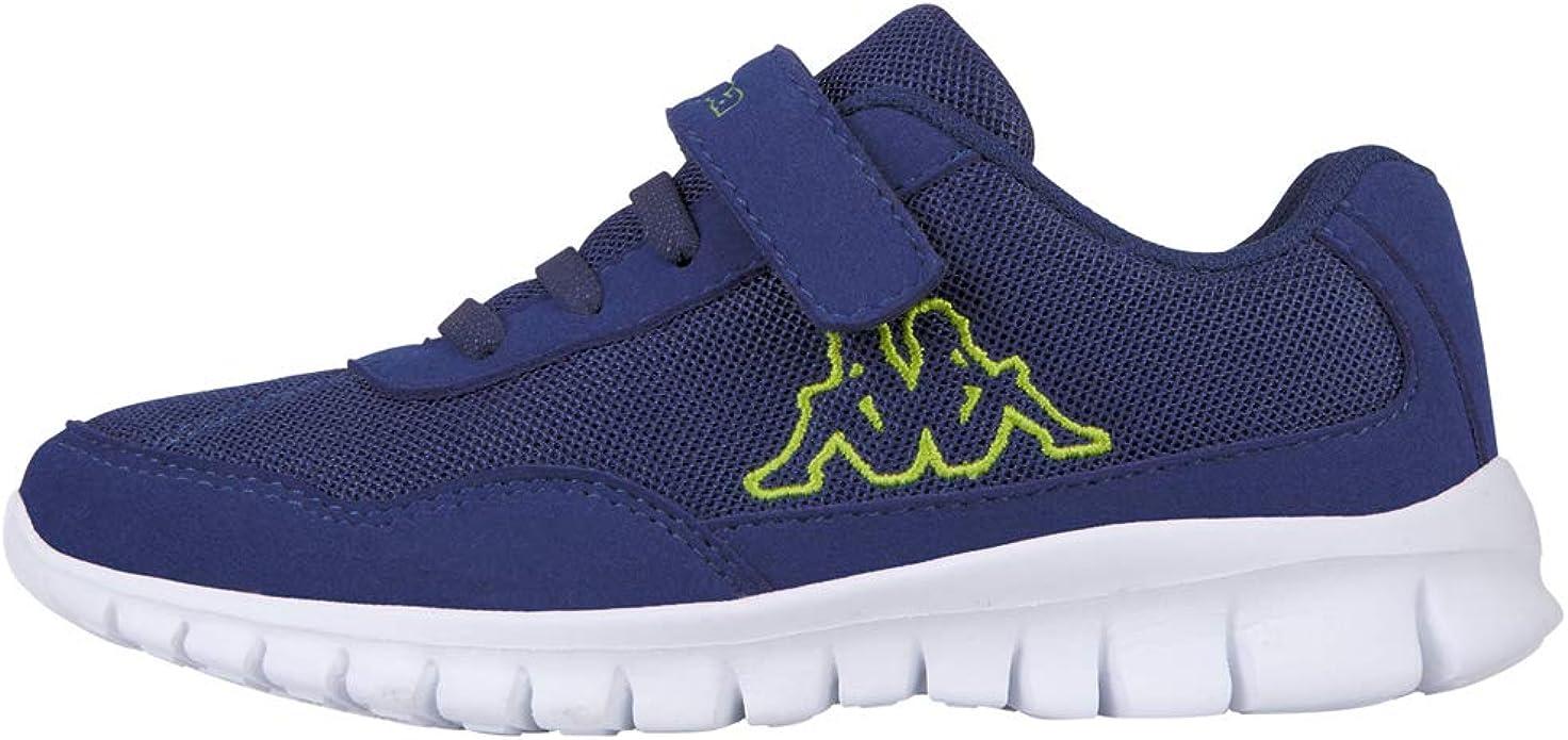 Kappa Follow Sneakers Mädchen Jungen Unisex Kinder Blau