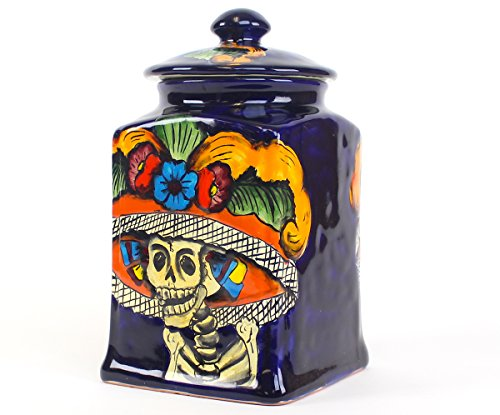 day of the dead cookie jar - 3