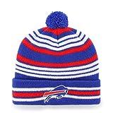 NFL Buffalo Bills Kid's Rickshaw OTS Cuff Knit Cap with Pom, Sonic Blue, Kid's