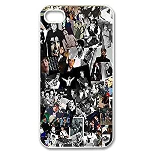 Fashionable Band The Beatles Design Sublimation Printed Personalized Case Cover for iPhone 4/iPhone 4s _White 30308