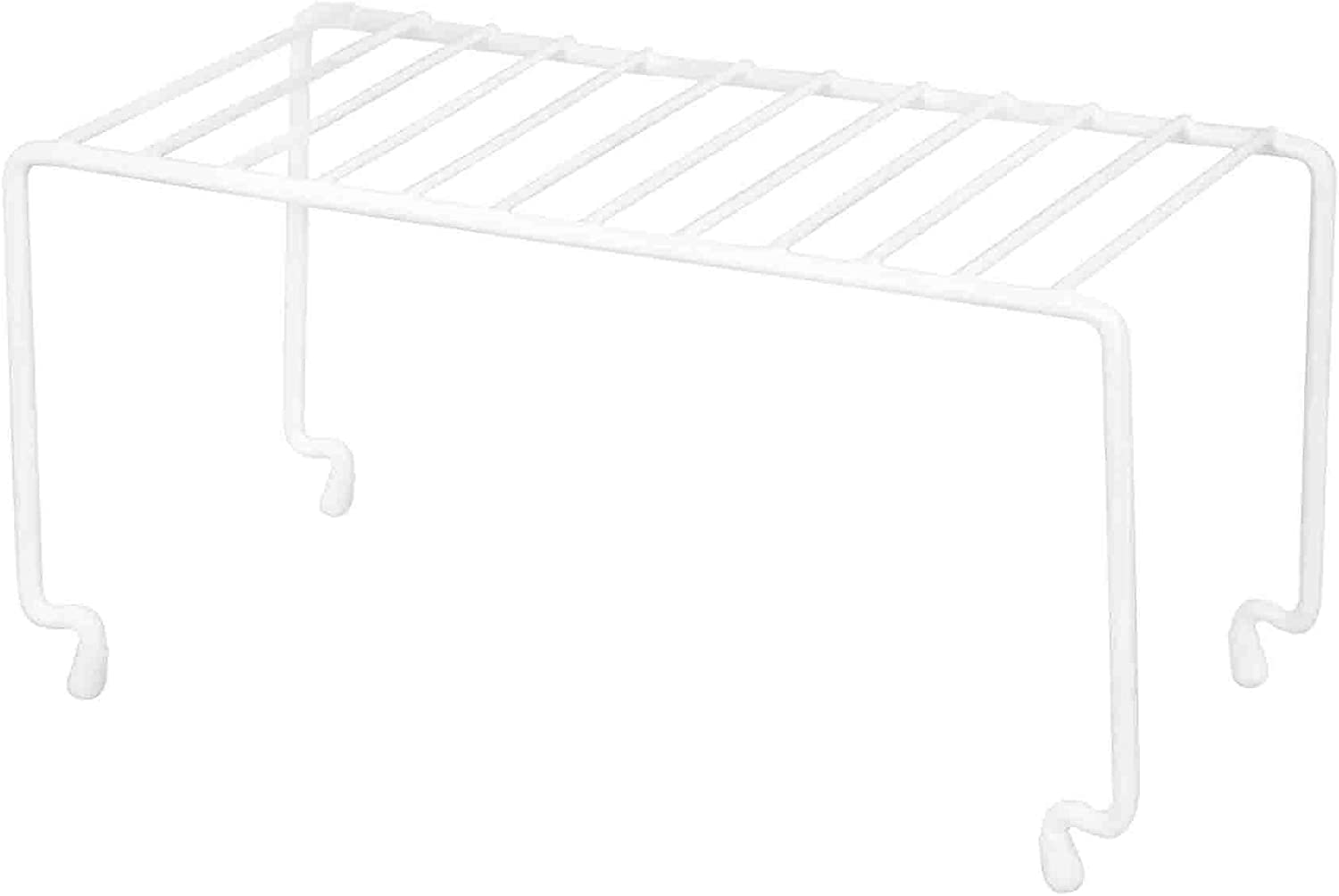 Home Basics Kitchen Stackable Storage Shelf Rack, 10