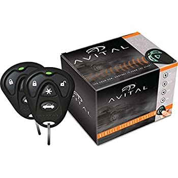 amazon com directed avital 1 way security system car electronics rh amazon com Avital Avistart 4103 Install Manual Avital 3100L Security System Review