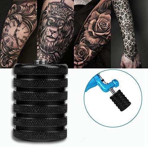 Tubo de agarre moleteado con tatuaje de aleación de aluminio de 35 ...