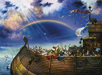 Amazon.com: Noah's Ark 1500 pc Jigsaw Puzzle: Toys & Games