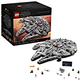 LEGO Star Wars Ultimate Millennium Falcon 75192 Expert Building Kit and Starship Model, Best Gift...
