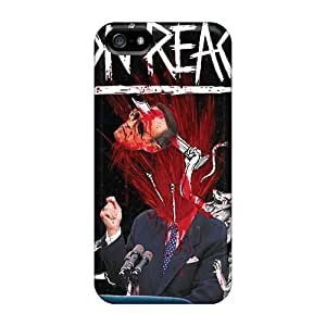 Shock Absorbent Hard Phone Cover For Iphone 5/5s With Customized Stylish Avenged Sevenfold Series DannyLCHEUNG