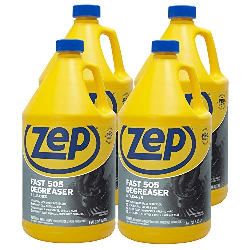 ZEP Fast 505 Cleaner & Degreaser 128 Ounces ZU505128 (Case of 4)