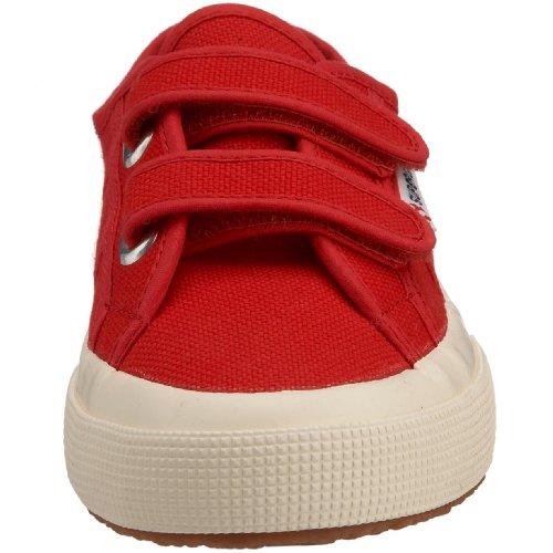 Superga 2750 Jvel Classic Zapatillas de algodón, Niños, Rojo (Red 975), 34 EU (1.5 UK)