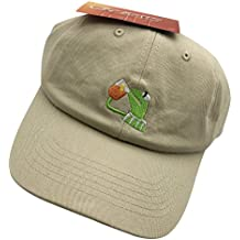 Kermit The Frog Dad Hat Baseball Cap Sipping Sips Drinking Tea Champion Adjustable
