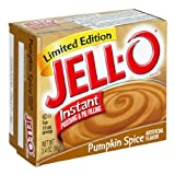 Kraft Jell-O Instant Pudding & Pie Filling, Pumpkin, 3.4-Ounce Boxes (Pack of 24)