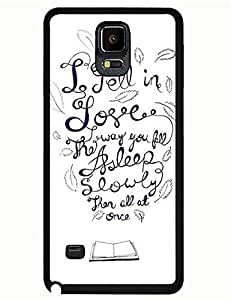 Naruto Iphone Case's Shop 8182060M921549448 Galaxy Note 4 Case, The Fault in Our Stars Cartoon Print Uncommon Tough Case Cover for Samsung Galaxy Note 4