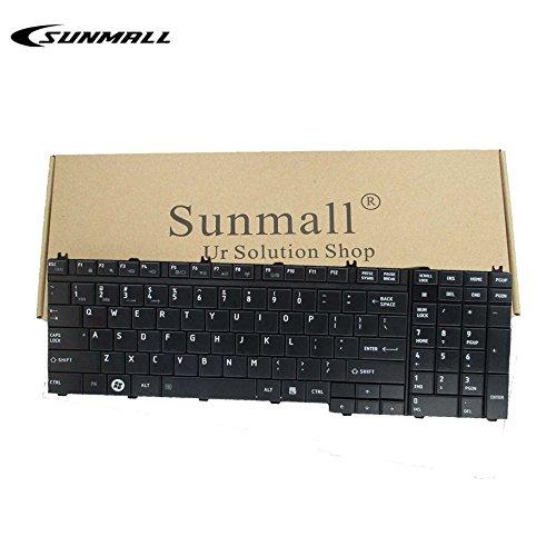 Qosmio Laptop Notebooks - SUNMALL US LAYOUT Laptop Keyboard replacement for Toshiba Qosmio A500 A505 G50 G55 X300 X305 X500 X505 L350 L350s L355 L355s L500 L505 L511 L512 L515 L516 L517 L550 L555 L581 L582 P300 P305 P500 P505