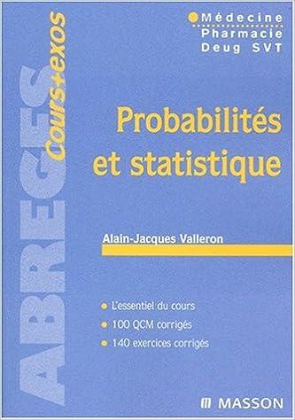 Probabilités statistique