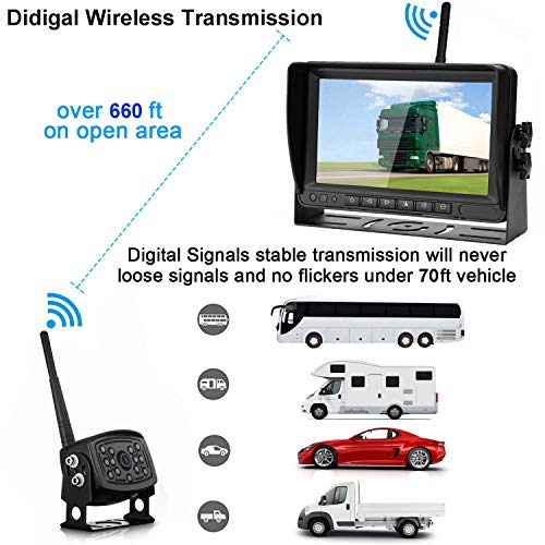 Buy wireless backup camera for trucks