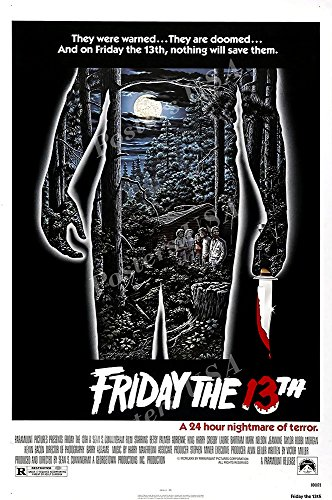 Posters USA Friday the 13th GLOSSY FINISH Movie Poster - FIL