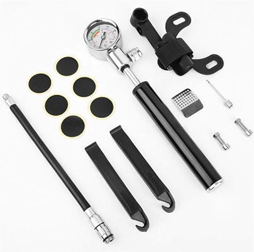 HJUN Bomba de Bicicleta Mini especializada y Kit de reparación de ...
