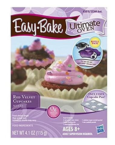 Easy Bake Ultimate Hasbro Oven Cupcake Mix, Pan & Wrap Refills Bundle Girls & Boys 8+ Up - Simply Delicious Muffins