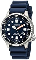 Citizen Eco-Drive Men's BN0151-09L Promaster Diver Watch With Blue PU Band